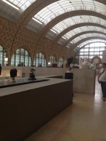 Galerie scultpures, musée d'Orsay
