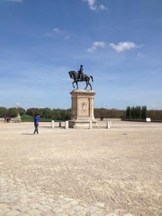 Paul Dubois, Statue équestre du connétable Anne de Montmorency faisant face à l'entrée