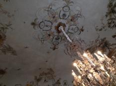 Détail du plafond de la Grande Singerie