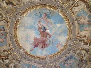 Plafond de la Rotonde, galerie des peintures