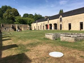 Domaine de Kerguéhennec, Cour des communs /cultivetaculture