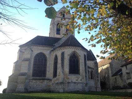 Eglise d'Auvers-sur-Oise /cultivetaculture