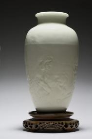 """Manufacture de Sèvres et Rodin, Vase Saïgon """"les centaures"""", 1891, Musée Rodin /Musée Rodin"""