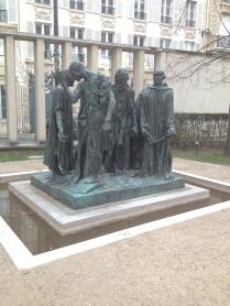 Rodin, Les Bourgeois de Calais, Musée Rodin /cultivetaculture