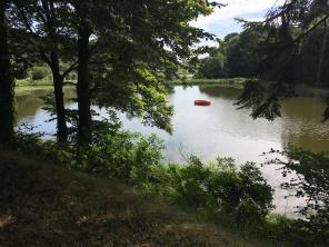 Domaine de Kerguéhennec, Vue sur le lac /cultivetaculture