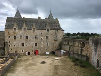 Aile Est du chateau de Suscinio /cultivetaculture