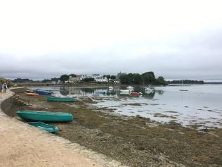 Bâteaux et île de Saint Cado /cultivetaculture