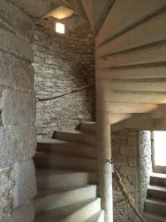 Escalier à vis du château /cultivetaculture