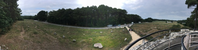Vue panoramique sur le site de Kermario /cultivetaculture