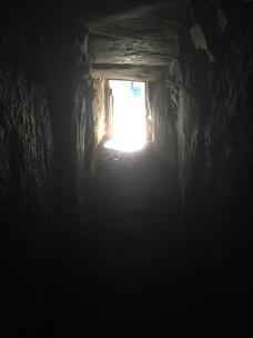 Vue depuis l'intérieur de la chambre sur la sortie /cultivetaculture