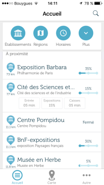 Affluences app