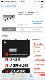 App Centre pompidou